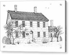 The Jillson House Acrylic Print