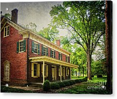The John Stover House Acrylic Print