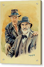 The Jones Boys Acrylic Print by Edward Draganski