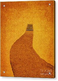 The Journey Pathway Minimalism Acrylic Print