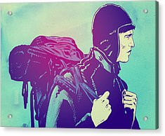 The Journey Acrylic Print by Giuseppe Cristiano