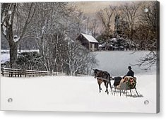 Acrylic Print featuring the photograph The Journey Home by Robin-Lee Vieira