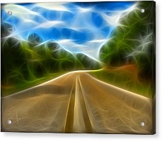The Journey Acrylic Print by Wendy J St Christopher
