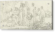 The Judgement Of Paris Acrylic Print