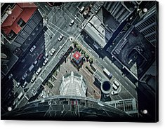 Acrylic Print featuring the photograph The Jump by Kim Andelkovic