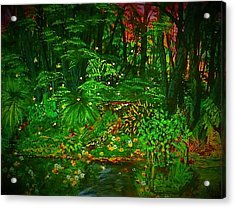 The Jungle Of Pennsylvania Acrylic Print