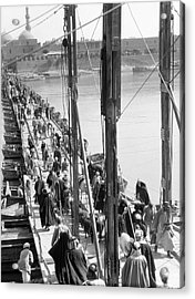 The Katah Bridge Acrylic Print by Underwood Archives