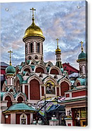 The Kazan Cathedral - Red Square - Moscow Russia Acrylic Print