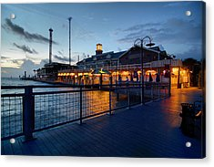 The Kemah Boardwalk Acrylic Print