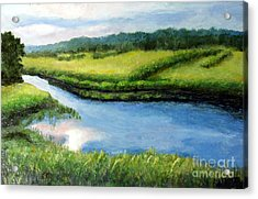 The Kennebecasis River Acrylic Print