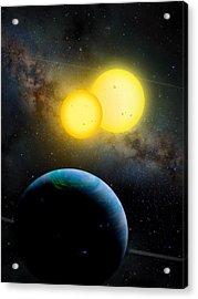 The Kepler 35 System Acrylic Print by Movie Poster Prints