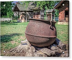 The Kettle Acrylic Print by Rob Sellers