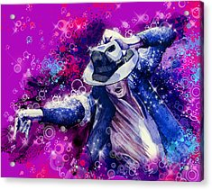 The King 2 Acrylic Print by Bekim Art