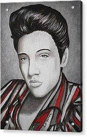 The King Acrylic Print by Al  Molina