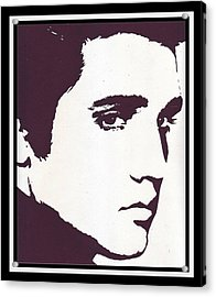 The King Of Rock 'n' Roll Acrylic Print