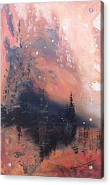 The Kingdom Under The Mountain Acrylic Print by Kume Bryant