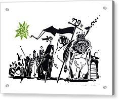 The King's Advisors Acrylic Print