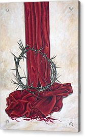 The King's Crown Acrylic Print by Ilse Kleyn