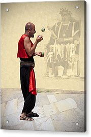 The King's Jester Acrylic Print