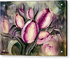 The Kings Tulips Acrylic Print