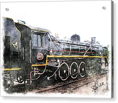 The Knysna Train Acrylic Print