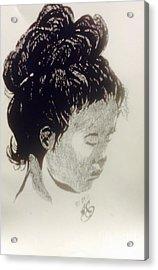The Korean Girl Acrylic Print