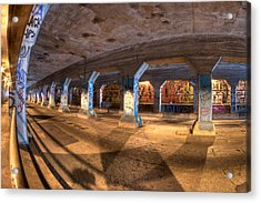 The Krog Street Tunnel Acrylic Print