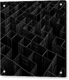 The Labyrinth II Acrylic Print