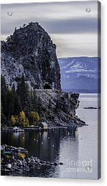 The Lady Of The Lake Acrylic Print