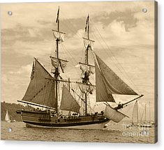 The Lady Washington Ship Acrylic Print