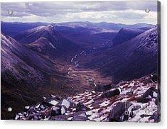 The Lairig Ghru - Cairngorm Mountains - Scotland Acrylic Print
