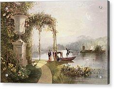 The Lake  Trentham Hall Gardens Acrylic Print