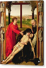 The Lamentation Of Christ Acrylic Print
