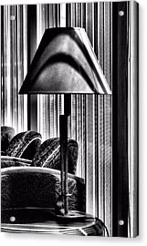 The Lamp In The Lobby Acrylic Print by Bob Wall