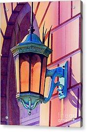 The Lamp On Goodwin Acrylic Print by Robert Hooper