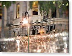 The Lamp Post Acrylic Print by Phillip J Gordon