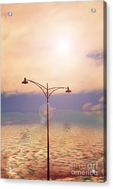 The Lampost Acrylic Print