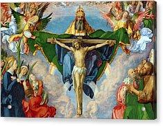 The Landauer Altarpiece Acrylic Print by Albrecht Durer