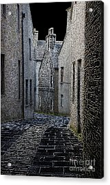 The Lane Acrylic Print by Lynne Sutherland