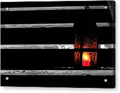 The Lantern Acrylic Print by Marwan Khoury