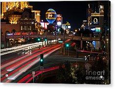 The Las Vegas Strip Acrylic Print by Eddie Yerkish