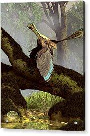 The Last Dinosaur Acrylic Print