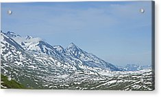 The Last Frontier Acrylic Print by Nick  Boren