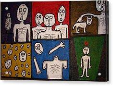The Last Hollow Men Acrylic Print
