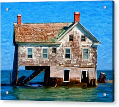 The Last House On Holland Island Acrylic Print