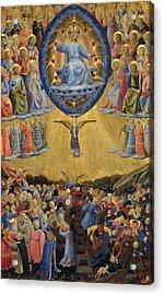 The Last Judgement - Central Panel Acrylic Print