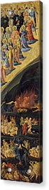 The Last Judgement - Right Wing Acrylic Print