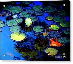 The Last Lily Acrylic Print