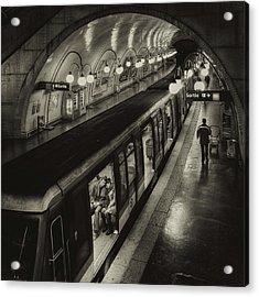 The Last Metro Acrylic Print