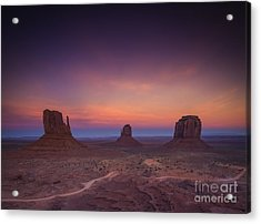 The Last Of Daylight Acrylic Print by Marco Crupi
